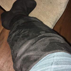 Torrid knee high wide width boots